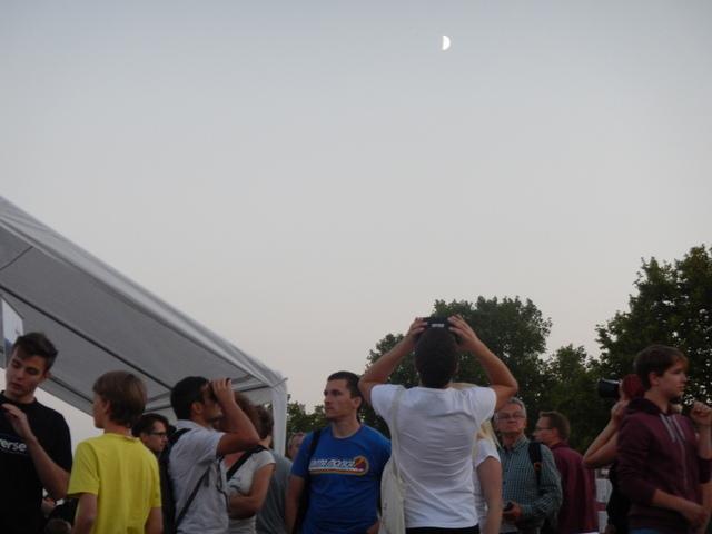 Der Mond im Visier mit Universe2go