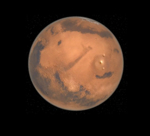 A view of Mars with the Universe2go.
