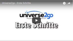 Universe2go Tutorial-Videos | Universe2go